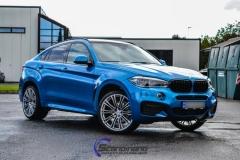 BMW X6 m foliert i ultra bla metallic-2