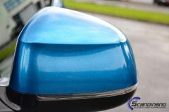BMW X6 m foliert i ultra bla metallic-5