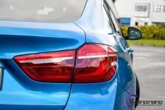 BMW X6 m foliert i ultra bla metallic-8