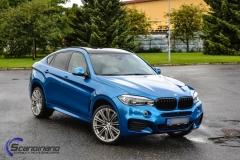 BMW X6 m foliert i ultra bla metallic-9