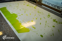 BMWX5 foliert i Atomic Lime fra PWF-8