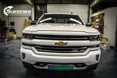 chevrolet silverado foliert white gloss Scandinano-3