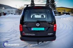 Dekorert Volkswagen Caddy for Noreiendom--6
