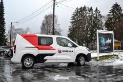 Design og Bildekor pa Workman firmabil-3