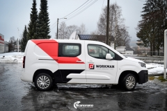 Design og Bildekor pa Workman firmabil-4