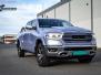 Dodge Ram helfoliert i Gloss Metallic Quick Silver fra Avery Dennison