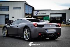 Ferrari foliert Satin dark grey Scandinano_-5