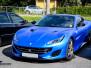 Ferrari helfoliert med Matt Anodized Blue fra PWF