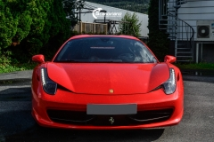 Ferrari Spider helfoliert med Gloss Hot Rod Red fra 3M-11