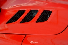 Ferrari Spider helfoliert med Gloss Hot Rod Red fra 3M-2