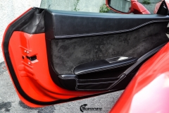 Ferrari Spider helfoliert med Gloss Hot Rod Red fra 3M-7