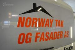 Fiat Doblo Maxi profilert for Norway tak og fasade-