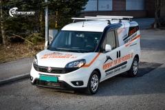 Fiat Doblo Maxi profilert for Norway tak og fasade-6