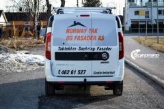Fiat Doblo Maxi profilert for Norway tak og fasade-9