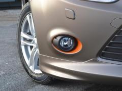 Ford focus foliert i matte bronze dekor-5