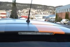 Ford focus foliert i matte bronze dekor-10