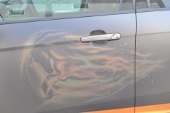 Ford focus foliert i matte bronze dekor-13