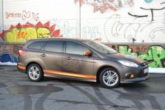 Ford focus foliert i matte bronze dekor-4