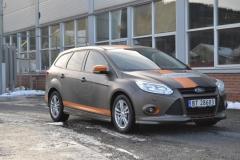 Ford focus foliert i matte bronze dekor-7