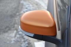 Ford focus foliert i matte bronze dekor-8