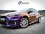 Ford Focus RS foliert med Flow Roaring Thunder Gloss +dekor