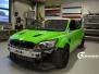 Ford Focus RS foliert med green