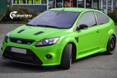 Ford focus RS foliert i green Scandinano_-3