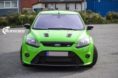 Ford focus RS foliert i green Scandinano_-4