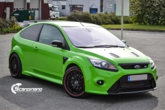 Ford focus RS foliert i green Scandinano_-5
