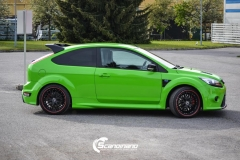 Ford focus RS foliert i green Scandinano_-6