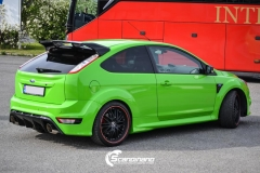 Ford focus RS foliert i green Scandinano_-7