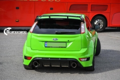 Ford focus RS foliert i green Scandinano_-8