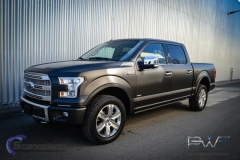 Ford foliert i matt black diamant pwf-6