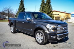 Ford foliert i matt black diamant pwf