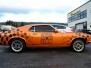 Ford Mustang 70 fastback foliert  med orange funky metallic