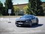Ford Mustang foliert Matt Diamond Black Metallic