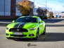 Ford Mustang helfoliert i Gloss Light Green fra 3M