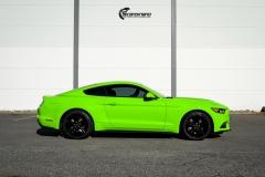Ford Mustang helfoliert i Gloss Light Green fra 3M (4 из 12)