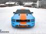 "Ford Mustang *Helfoliert med ""Baby Blue"" *Striper dekor *Solfilm"