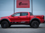 Ford Ranger Raptor Helfoliert i Ruby Red fra PWF