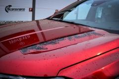 Ford Ranger Raptor Helfoliert i Ruby Red fra PWF-14