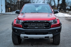 Ford Ranger Raptor Helfoliert i Ruby Red fra PWF-4
