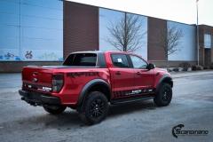 Ford Ranger Raptor Helfoliert i Ruby Red fra PWF-7