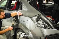 Honda Type R foliert i Lakkbeskyttelsesfilm  Scandinano-5