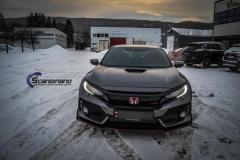 Honda Type R foliert i Lakkbeskyttelsesfilm  Scandinano-8
