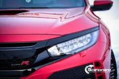 Honda type R foliert lakkbeskyttelsesfilm Scandinano-10