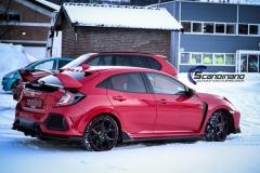 Honda type R foliert lakkbeskyttelsesfilm Scandinano-7