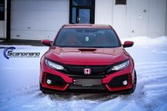 Honda type R foliert lakkbeskyttelsesfilm Scandinano-9