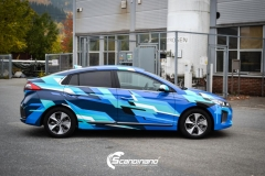 Hyundai IONIQ custom design scandinano