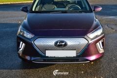 Hyundai Ioniq helfoliert i Gloss Flip Deep Space fra 3M (11 из 12)